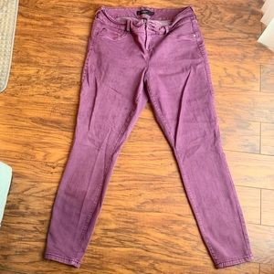 Torrid Plus Size Purple Skinny Jeans